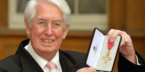 gareth gwenlan receives his obe