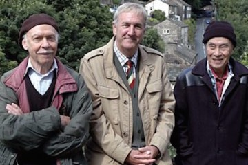 russ abbott, burt kwouk and brian murphy make the final last of the summer wine trio