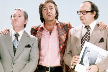 motecambe and wise with des o'connor