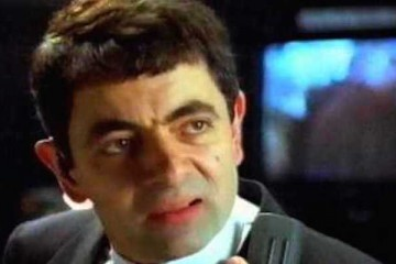 rowan atkinson plays a secret agent for barclaycard ads