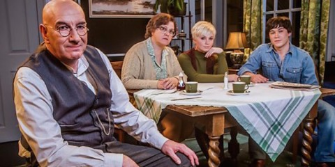 alf garnett as he will appear in the bbc landmark comedy season remake of till death do us part
