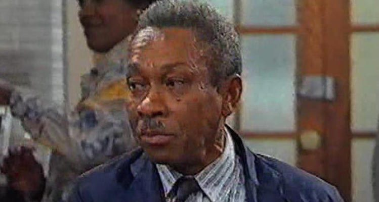 Norman Beaton is Desmond in the popular TV series Desmonds