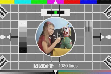 vintage tv the old test card
