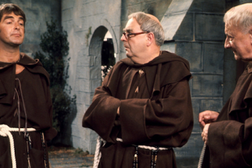 derek nimmo stars in the bbc sitcom set in a monestry - oh brother!