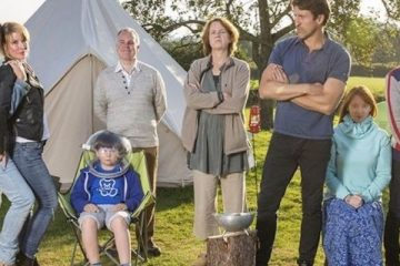 new comedy from writer julia Davis, Camping airs on sky atlantic- camping