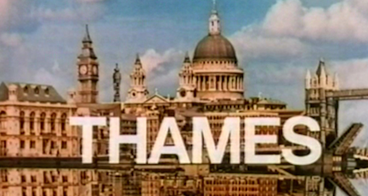 the old thames tv title card that appeared on so many classic itv shows