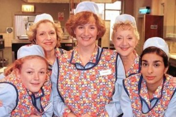 Victoria wood stars in the dinnerladies the classic bbc sitcom she created and wrote