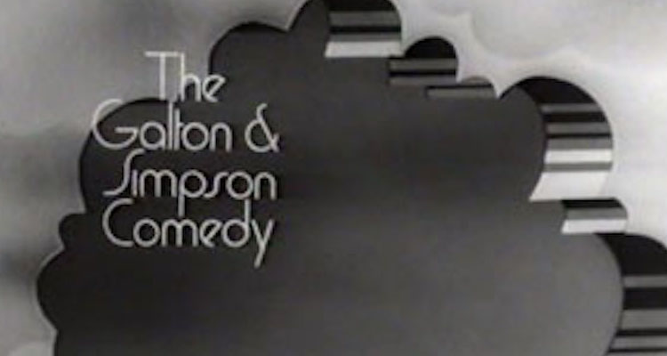 title card from the 1969 series the galton and simpson comedy