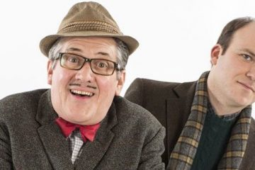 Steve delaney and Rory Kinnear star in BBC sitcom Count Arthur Strong