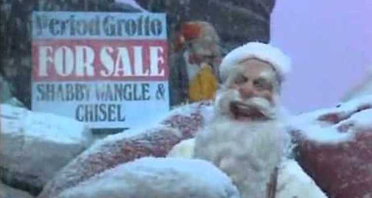 santa claus finds himself unemployed in a seasonal offrering of spitting image