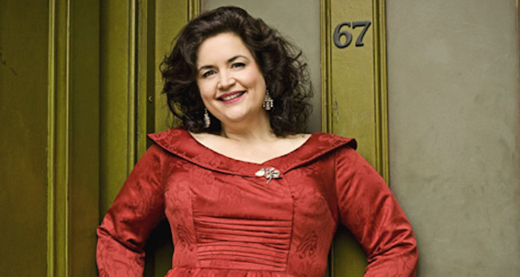 ruth jones as hattie jacques in the bbc 4 drama hattie