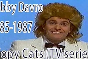 bobby davro was among the performers on copy cats