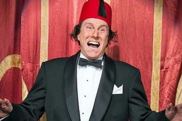 David Threlfall as Tommy Cooper in Not Like That, Like This