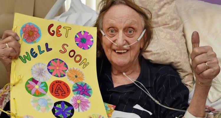 ken_dodd making progress from his hospital bed