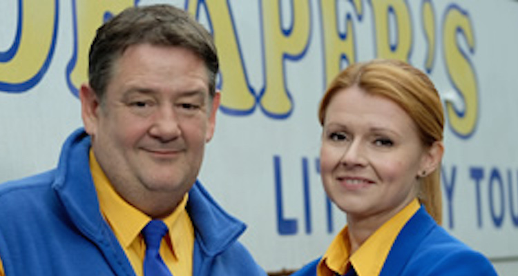 sian gibson and johnny vegascare among an all star cast in murder on the blackpool express