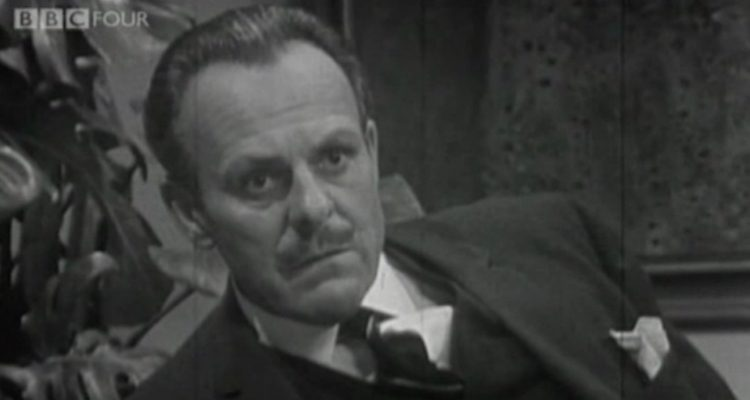 terry thomas is the old campaigner in BBC's comedy playhouse