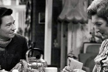 reg varney and pat coombs are among an all star cast in the bbc sitcom beggar my neighbour