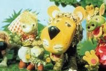 parsley and his friends in the cult kids tv series the herbs