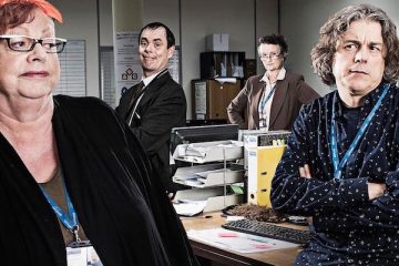 jo brand turns her hand ro sitcom when she joins an alstar cast for channel 4 comedy damned