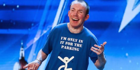 comedian lee ridley better known as lost voice guy wins BGT 2018