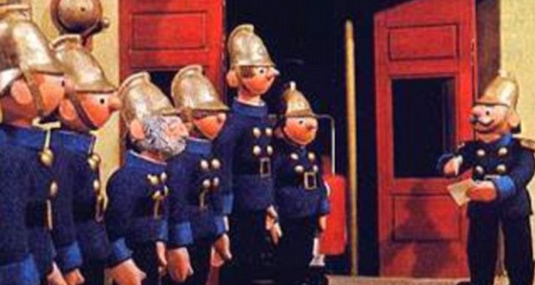 the famous trump ton fire brigade take their roll call