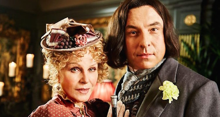 joanna lumley starsc alongside david walliams in the pilot episode of david walliams and friend