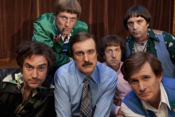 the cast of bbc 4 comedy holy flying circus