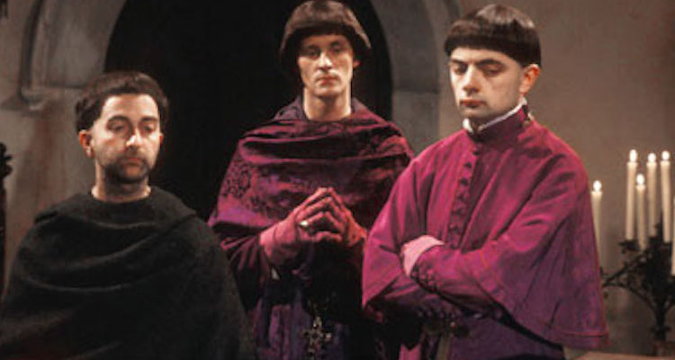 prince edmund finds himself promoted to archbishop of Canterbury in this classic episode from the first black adder series