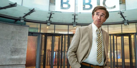 steve coogan returns as alan partridge in his new chat show this time with alan partridge
