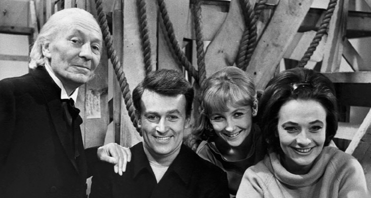 william russell and jaqueline hill make thir last appearences as tardis crew in The Chase