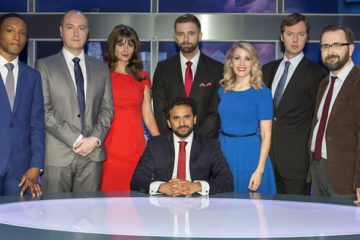 main cast/contributors for the bbc satire the mash report