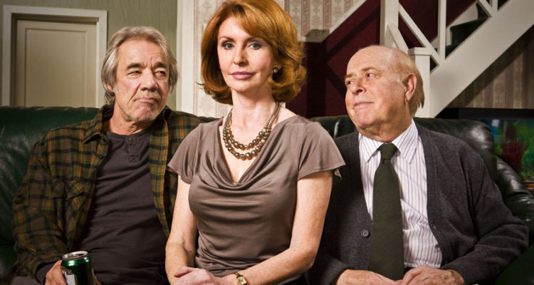 clive swift and roger lloyd -pack star alongside jane asher in the old guys